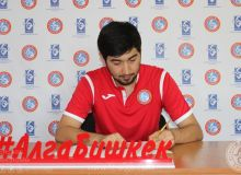 Transfer News. Alisher Azizov signs a contract with FC Alga Bishkek