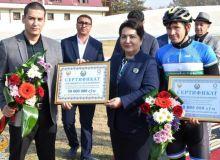 В Ташкенте прошло торжественное открытие новой базы велотрека