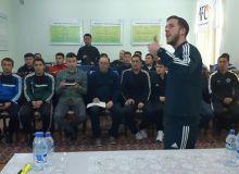 Тренеры академии «Real Madrid Foundation Clinic» прибыли в Андижанскую область