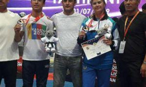 2 нафар андижонлик каратечи Осиё чемпионати совриндорига айланди