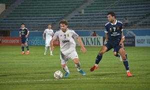FC AGMK earn a three-point bag claiming a 1-0 win over FC Kizilkum