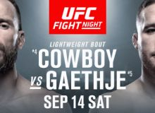 UFC Ванкувер, кеча жангида Серроне Гетжига қарши жанг қилади