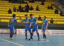 Футзал: Ўзбекистон чемпионати 1-тур иккинчи кунги натижалар