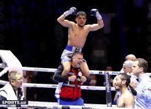 The Uzbek stars made perfect session at the Tashkent Boxing Night