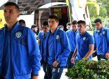 Молодёжная сборная Узбекистана прибыла в Иран