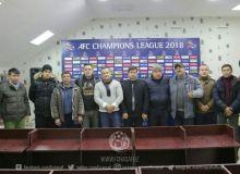 Сотрудники отдела работы с болельщиками встретились с представителями «Насафа»