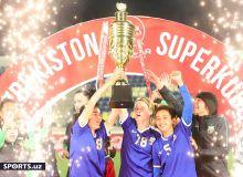 Такого ещё не было: «Бунёдкор-W» - трёхратная обладатель Суперкубка Узбекистана! (Фотогалерея)