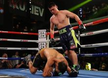 Uzbekistan's Bektemir Melikuziev stops Clay Collard via TKO in Las Vegas