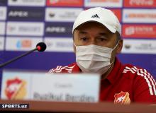 Рузикул Бердиев: Мы сделаем все возможное, чтобы порадовать болельщиков