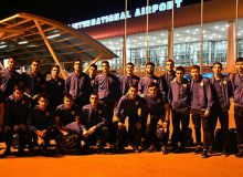 Uzbekistan leave for a friendly match against Iran