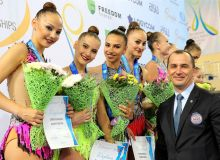 Badiiy gimnastika bo'yicha Osiyo chempionati boshlanishidan avval oltin medallarni qo'lga kiritdik