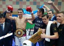 "Ҳусниддин Пўлатов ""WBA Asia Super"" чемпионлик камарини қўлга киритди"