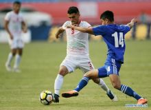 Uzbekistan defeat Tajikistan with a narrow 1-0 win at CFA Team China Int'l Youth Football Tournament