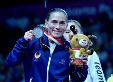 Chusovitina tavallud kunida kumush medal bilan taqdirlandi
