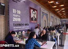 Шахмат. Георгий Агзамов хотирасига бағишланган халқаро турнирнинг 5-тури якунланди