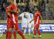 Товарищеский матч: Олимпийская сборная Узбекистана одержала минимальную победу над Ираном