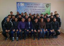 В Нукусе и Термезе проходят тренерские курсы АФК по программе сертификата «С»