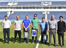 Representatives of FIFA visited the Football Club