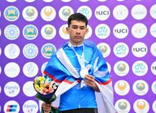 Наши велоспортсмены удачно начали соревнования кубка Азии