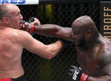 "Олейник нокаутга учради ва ""UFC Fight Night 174"" турнирининг қолган натижалари"