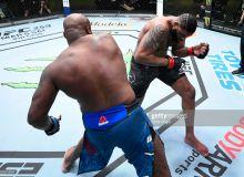 """""""UFC Vegas 19"""": Марказий жанг 2-раундда якунланди (видео)"""