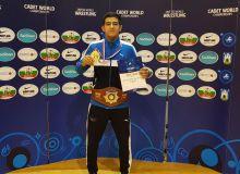 Наш борец стал чемпионом мира