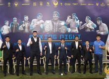 В НОК состоялась пресс-конференция с участием звёзд вечера бокса