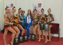 Uzbekistan's gymnasts claim bronze medals at the Moscow Grand Prix