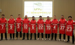 FC Lokomotiv present new players to the media