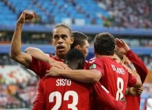 ЖЧ-2018. Дания Перу устидан ғалабага эришди