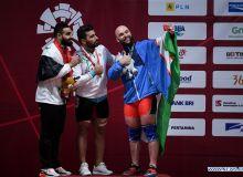 Ruslan Nurudinov jahon chempionatida bronza medalini qo'lga kiritdi