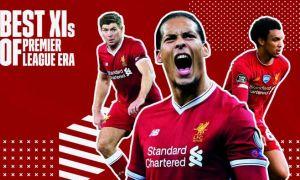«Ливерпуль»нинг Премьер-лига давридаги энг яхши футболчилари рамзий жамоаси: Жеррард, Салоҳ ва бошқалар!