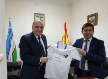 ПФЛ Уз выразила благодарность Посольству Узбекистана в Испании