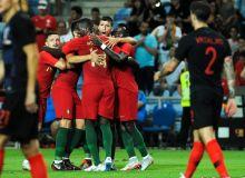 Португалия - Хорватия 1:1 (видео)