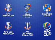 AFC rebrands major national team and club competitions