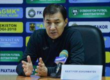 Бахтиер Ашурматов: В PEPSI Суперлиге уже в первом туре нас ждет интересная игра с АГМК