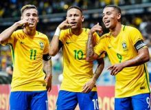 Бразилия октябрда Саудия Арабистони ва Аргентина билан ўйнайди