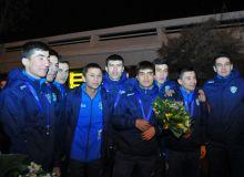 Сборная Узбекистана по футзалу вернулась домой