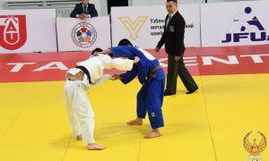 Дзюдоисты Узбекистана феноменально выступают на Открытом Кубке Азии