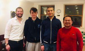 Djurabek Khamrakulov crowned at the Marshall IM Norm Round Robin Fall 2019 Chess Tournament