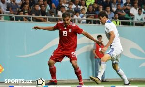 Uzbekistan receive a 1-0 defeat from Iran in Tashkent
