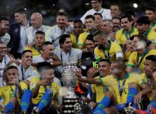 Бразилия - Перу 3:1 (видео)