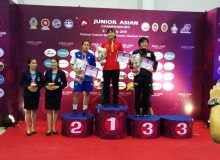 Uzbek women wrestlers finish Asian Youth Greco-Roman Wrestling Championships with 3 medals in Thailand