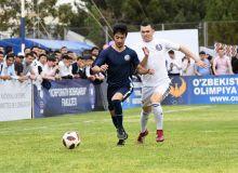 В Ташкентском государственном экономическом университете сегодня состоялся молодежный спортивный фестиваль