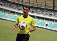 Ravshan Irmatov hopes to officiate in the World Cup final