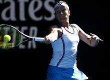 Анастасия Севастова мезбон теннисчи олдида ожиз қолди