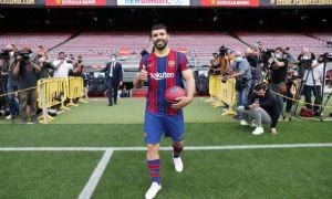 """Агуэро """"Барселона""""да 4 баробар кам маош олади"""