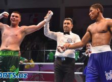 Photo Gallery. Bektemir Melikuziev returns to the ring with a great victory