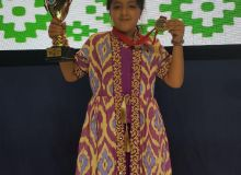 Afruza Khamidova earn a gold medal at the World Cadet Rapid & Blitz Chess Championships 2019