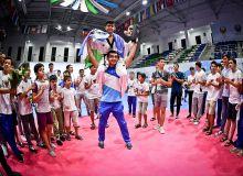 Таэквондочимиз жаҳон чемпионатининг энг яхши спортчиси бўлди
